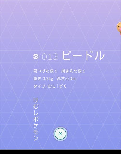 ポケモンGO-図鑑のバグ